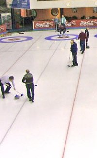 Curling at East Kilbride Ice Rink